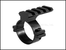 Optics 35mm 34mm Scope Mount Ring with Picatinny Rail fit 21mm Weaver Red Dot Sight for 34 35 mm Riflescopes(China)