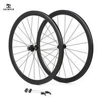 Road 700C bicycle wheelset aluminum alloy road bike 2 sealed bearing 40mm rims bike wheels parts Clincher