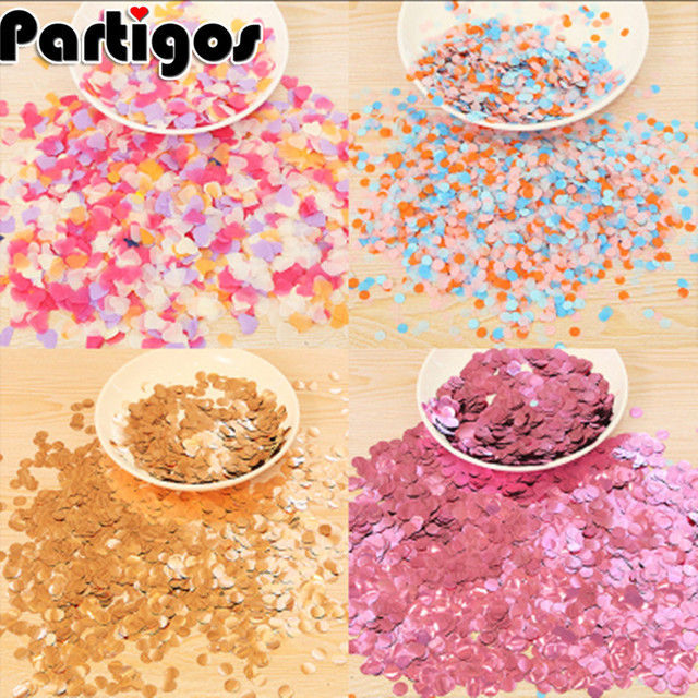 1kg Premium 1cm Round Confetti Party Table Gold Black Red Pink Baby Shower Wedding Birthday Decorations