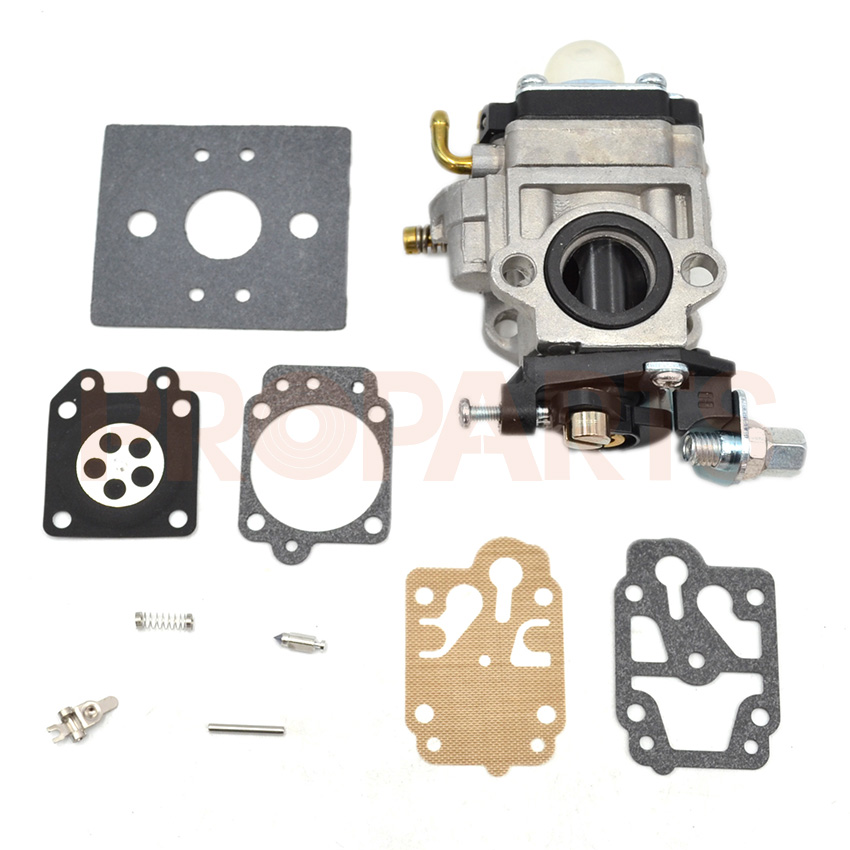 Brushcutter Carburetor Carb Repair Kit For CG430 CG520 Trimmer spare parts 1E40-5,1E44F-5 43CC 52CC creative mathematical symbol wall clock white black 1 x aa