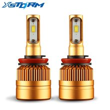 2Pcs H8 H9 H11 Led HB4 9006 HB3 9005 Led Headlight Bulb 8000LM 6000K 12V White Auto LED Lights Car Head Lamp(China)