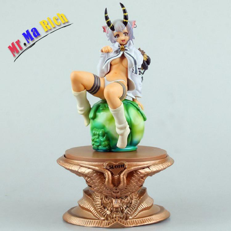 New Arrival Anime The Seven Deadly Sins Belphegor Sin Of Sloth Laziness Sexy Girl Pvc 1/8 Scale Action Figure 20cm Model Doll orchid seed seven deadly sins belphegor 1 8 scale sexy pvc figure collectible model toy 20cm