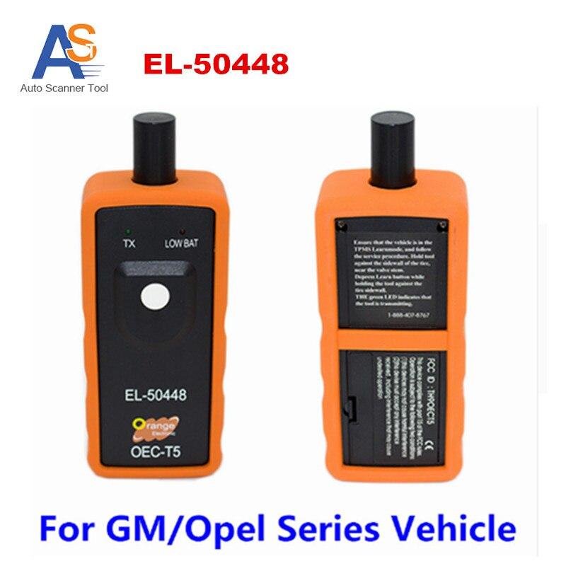 Herramienta de diagnóstico Auto Del Automóvil EL 50448 Sensor de Monitoreo de Presión de Neumáticos TPMS Herramienta de Activación EL-50448 para gm Vehículo de Serie