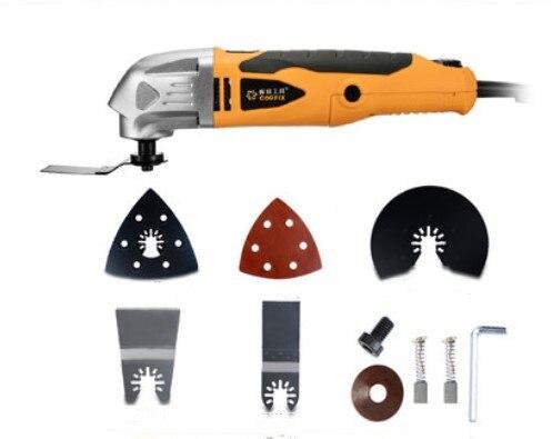220 V tondeuse électrique coupe polissage meulage ouverture pelle à fente Machine multifonction travail du bois coupe outils électriques