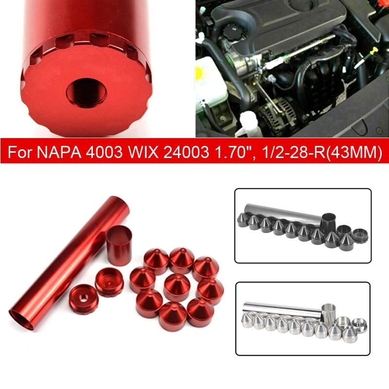 Pcmos 14 шт. 1/2 28,1 3/4X10 топливный фильтр автомобильный растворитель ловушка для NAPA 4003 WIX 24003 1,70 Автомобильные Фильтры Запчасти Черный Красный Новый