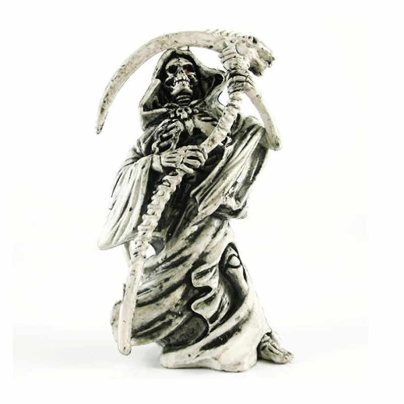 Original Novo Motor Morte Crânio Chaveiro de Borracha Dos Homens Do Vintage Crânio Encantos Do Saco Do Keychain do Anel Chave Chaveiro Jóias Presente Dia Das Bruxas