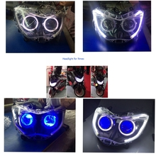 Modified motorcycle parts Headlight HID head light LED headlamp front lamps for YAMAHA NMAX 155 NMAX155 NMAX125