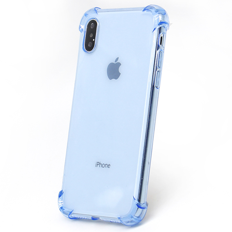 3D Anti Shock  Phone Cases Cover For Iphone X Anti Shock Cover For Iphone 6 7 8 Plus Phone Back Shell
