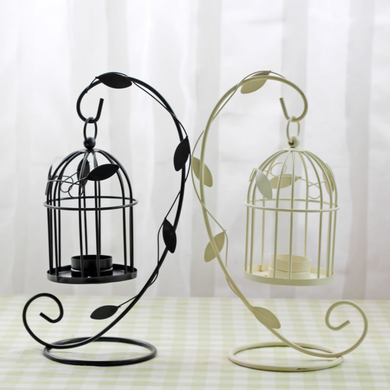 Iron Moroccan Style Candlestick Sconce Birdcage Candle ... on Antique Style Candle Holder Sconces id=99878