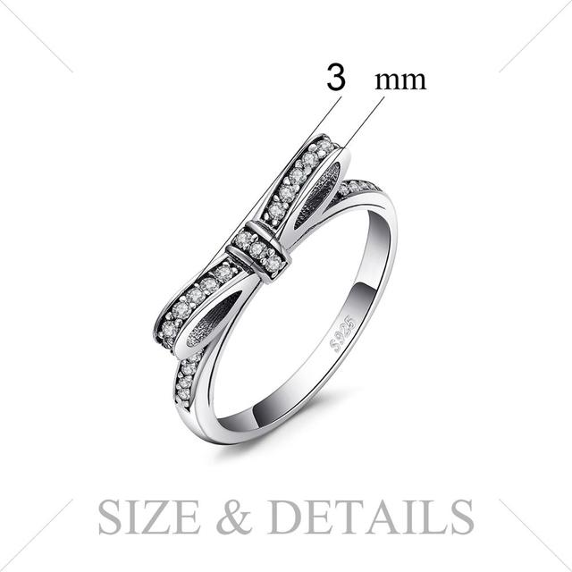 Bowknot Sterling Silver Ring