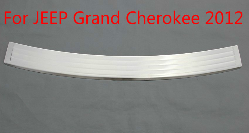 For JEEP Grand Cherokee 2012 High quality stainless steel Rear bumper Protector Sill Car covers Car styling