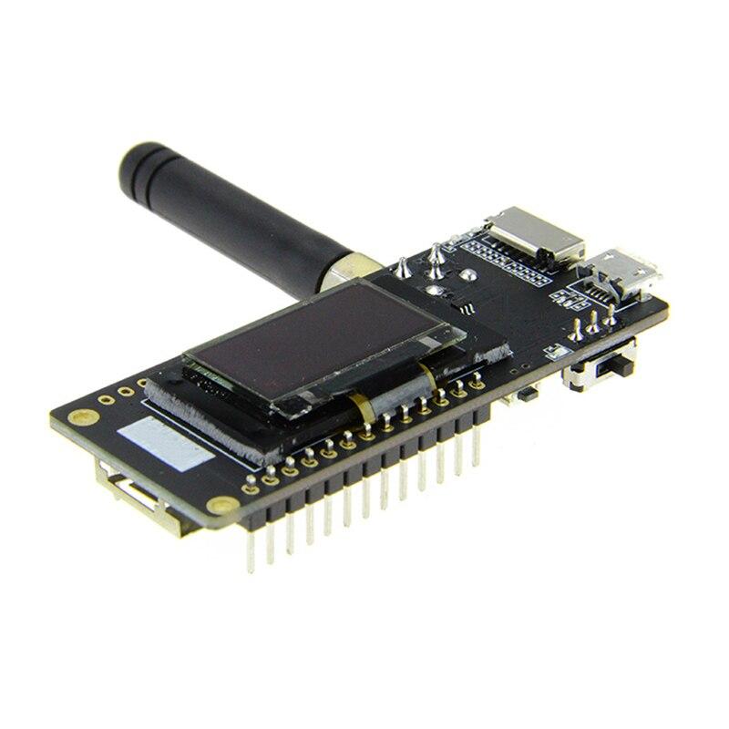 2pcs of TTGO LORA32 868/915Mhz SX1276 ESP32 Oled-display Bluetooth WIFI  Lora development board
