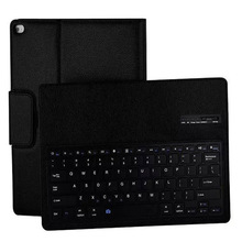 Bluetooth keyboard Case Cover For ipad Pro 12.9 2017 ABS split holster Embossed inch 2015