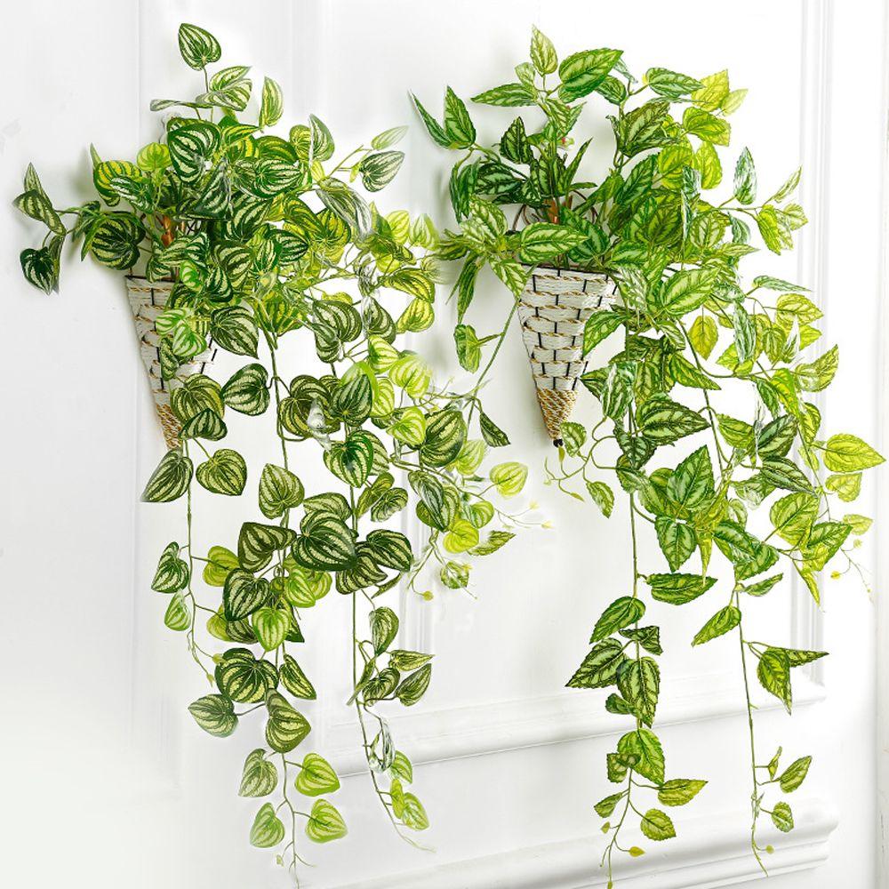 2PCS Artificial Grass Plants Landscape Flower Mini Green Fake Plant Wedding Party DIY Flower Arrangement Home Decoration thumbnail