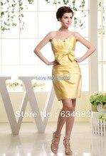 free shipping amanda novias 2013 yellow silver dress cheap bandage dresses vestidos formales maxi party short