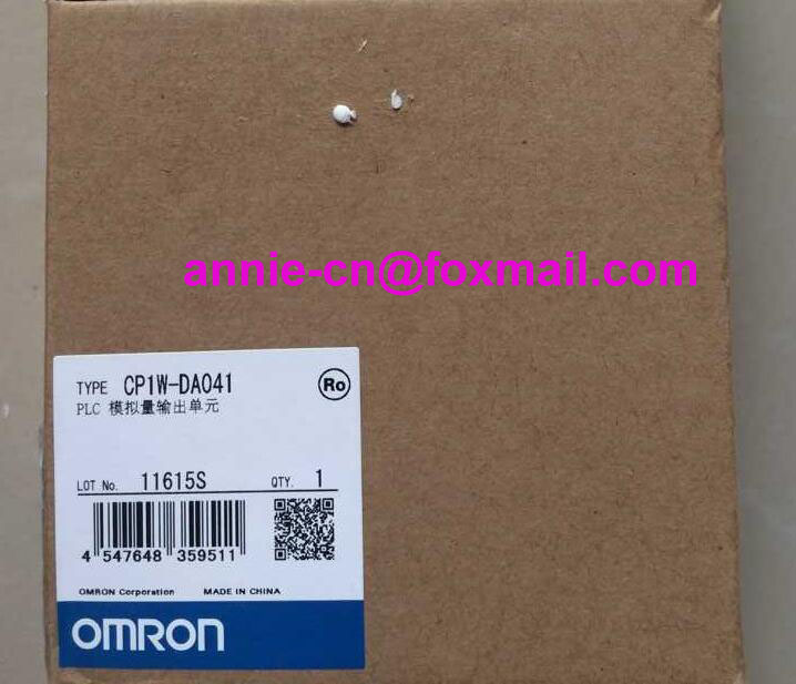 100% New and original  CP1W-DA041  OMRON PLC CONTROLLER  Analog output unit cp1w 16er new and original omron plc controller plc module