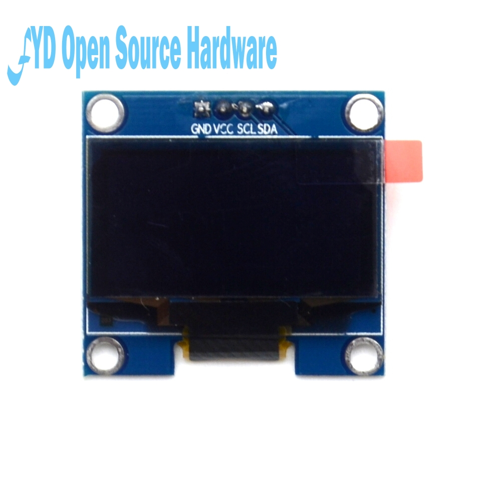 1.3 Inch 4Pin White OLED LCD Display Module 12864 IIC I2C Interface Module For Arduino  Resolution128X64 Board