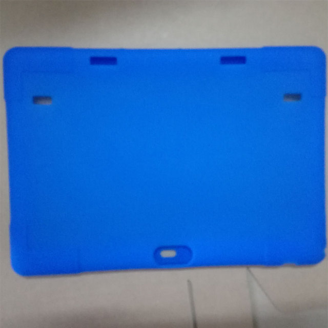 Myslc silicone case for BDF 10 inch Original 3G Phone Call SIM card Android 5.1 MTK6580/6582 Quad Core tablet