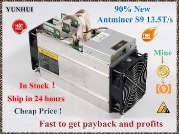 Используется AntMiner S9 13,5 T Bitcoin Miner Asic Miner 16nm Btc BCH Miner Bitcoin Miner машина лучше чем Whatsminer M3