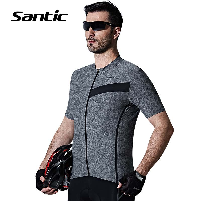 Santic Cycling Jersey 2018 Pro Road MTB Cycling Shirt Bicycle Short Sleeve Cycling Clothing Quick Dry Maillot Ciclismo Bike Wear