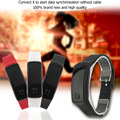 Super Lightweight LED Touch Design Sport Running Digital Bracelet Soft Silicone Smart Digital Wristaband White/Black/Red