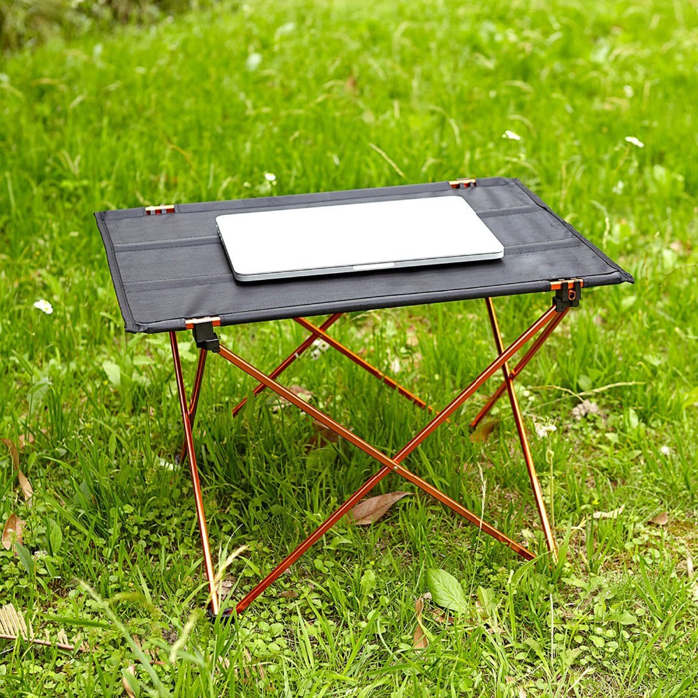 Outdoor Picknicktafel Camping Aluminium Picknicktafel Waterdicht - Meubilair - Foto 5