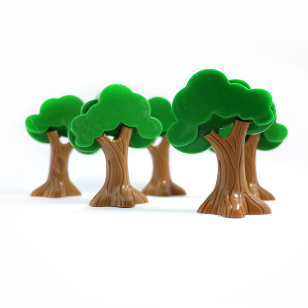 x0295pcs/lot high-quality childrens educational game scene apple Tree accessories necess ...