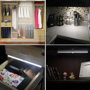 Image 5 - Şarj edilebilir LED kızılötesi PIR hareket sensörü gece lambası kablosuz LED duvar lambası otomatik açık/kapalı çocuk yolu merdiven duvar buzdolabı