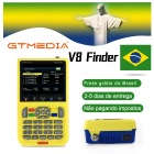 GTMEDIA/Freesat V8 Finder Satellite Finder HD DVB-S2 Digital High Definition Sat Finder DVB S2 Satellite Meter Satfinder 1080P
