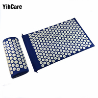 YihCare Spikes Acupressure Mat And Pillow Set Yoga Mat Acupuncture Relieve Stress Pain Tension Spike Body