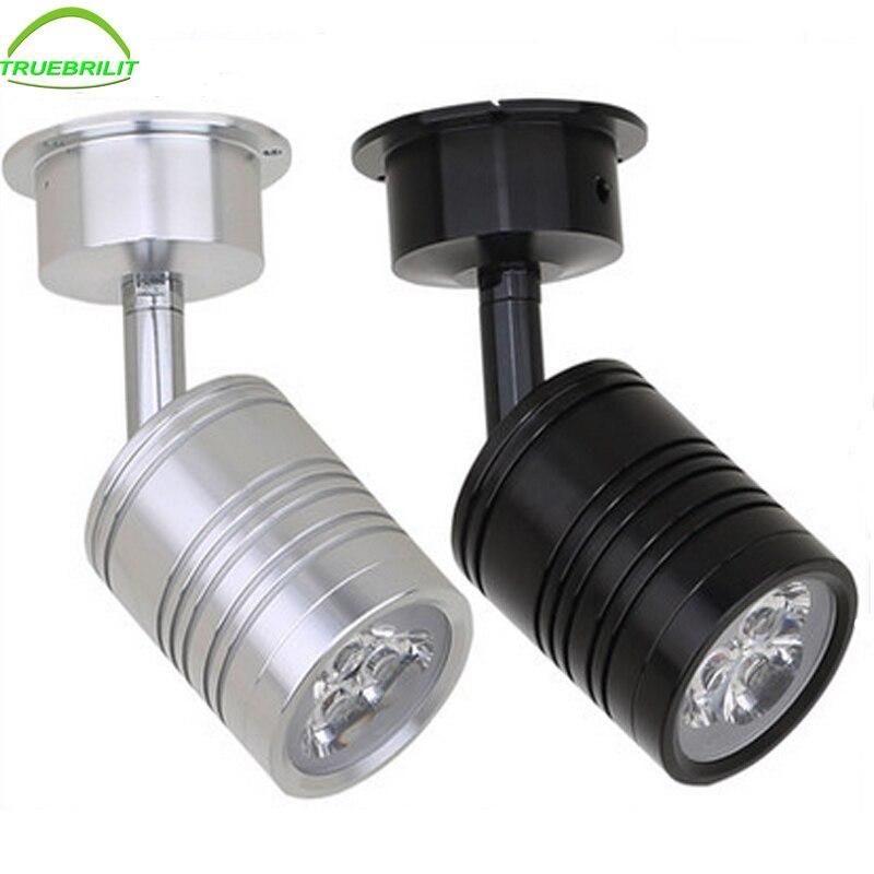 Светодиодные потолочные светильники квадратные встраиваемые точечные лампы 3 Вт 5 Вт 7 Вт затемненные пуховые светильники 110 В 220 В Домашнее освещение алюминиевый драйвер входит в комплект
