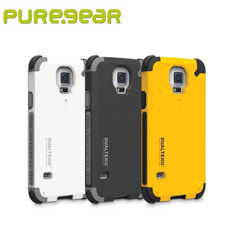 Цена за Puregear оригинальный открытый anti shock DUALTEK extreme Shock Case для Samsung Galaxy S5 с розничной упаковке Бесплатная доставка