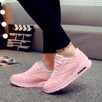 TOURSH Winter Sneakers Running Shoes For Women Sport Sneakers Woman Krasovki Womens Zapatillas Deporte Mujer With