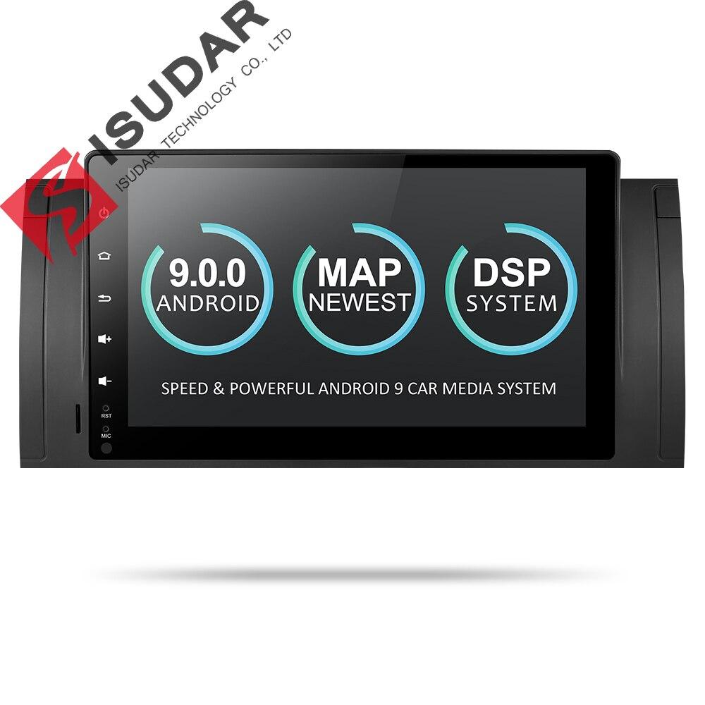 9 Isudar Reprodutor multimídia Carro Dois Din Automotivo Rádio Android Para BMW/E39/E53/X5/M5 GPS Quad Core RAM GB ROM 16 2G DSP FM DVR