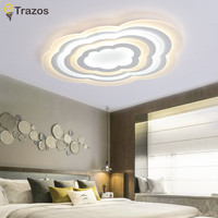 Современный ультра тонкий светодиодный потолочный светильник простой стиль умное Домашнее освещение большой художественный креативный п