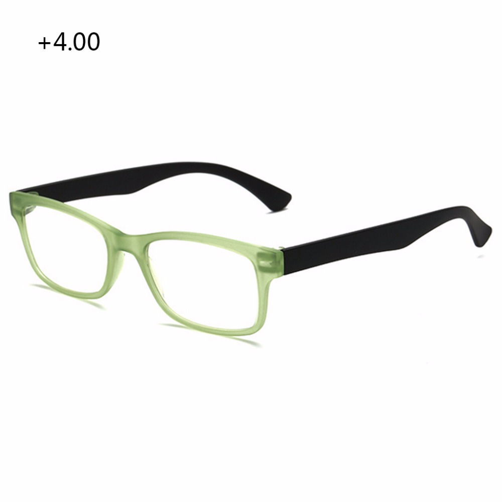 New Comfy Ultra Light Reading Glasses Presbyopia Unisex Reading Glasses Presbyopic Eyeglasses Full Frame +1.0 To +4.0 Portable ...