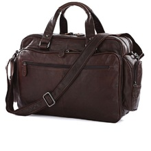 2016 l'arrivée de nouveaux Manly 100% en cuir véritable Trendy sacs à main voyage Laptop Bag molletons épaule Messenger sac sacs à main 7150