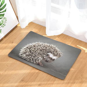 Image 5 - CAMMITEVER Lovely Small Animal Hedgehog Carpet Alfombra Chair mat Seat Pad  Area Rugs Washable Bedroom Kids Room Decoration