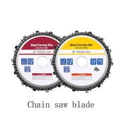 5 дюймов шлифовальный диск и цепи 14 зуба мелкими абразивными вырезать цепи для 125x22 мм угловой шлифователь