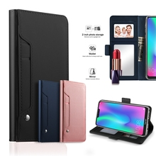 For OnePlus 7 Case PU Leather Flip Stand Wallet Case with Mirror Card Pocket Cover For OnePlus 6T 5G 7 Pro Case Luxury