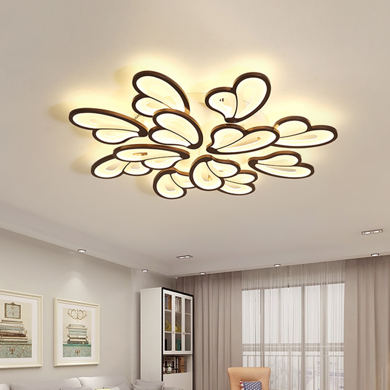 Black LED Ceiling Lights For Living Room Modern Indoor Home Decor Bedroom Plafon Lighting Kitchen Fixtures Acrylic Lamps ShadeBlack LED Ceiling Lights For Living Room Modern Indoor Home Decor Bedroom Plafon Lighting Kitchen Fixtures Acrylic Lamps Shade