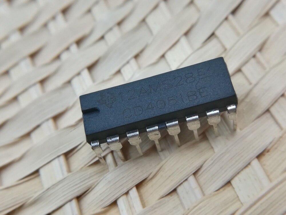 CD4051BE DIP16 CD4051 DIP 4051 cd4051be cd4051 dip 16
