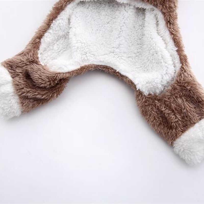 חורף חתול חם צמר לחיות מחמד תלבושות לחתולים קטנים חתלתול סרבלי בגדי חתול מעיל מעיל חיות מחמד כלב בגדים