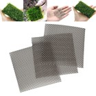 5pc 8x8cm Square Shape Wire Stainless Steel Filters Mesh Pad Aquarium Fish Tank Water Grass Plants Fixed Net Ornaments