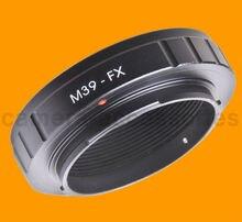M39-FX Зоркий L39 LSM LTM объектива до Fuji X-mount адаптер XF XC E2 M1 A1 Pro1 Fujifilm X-E1, X-M1, X-E2