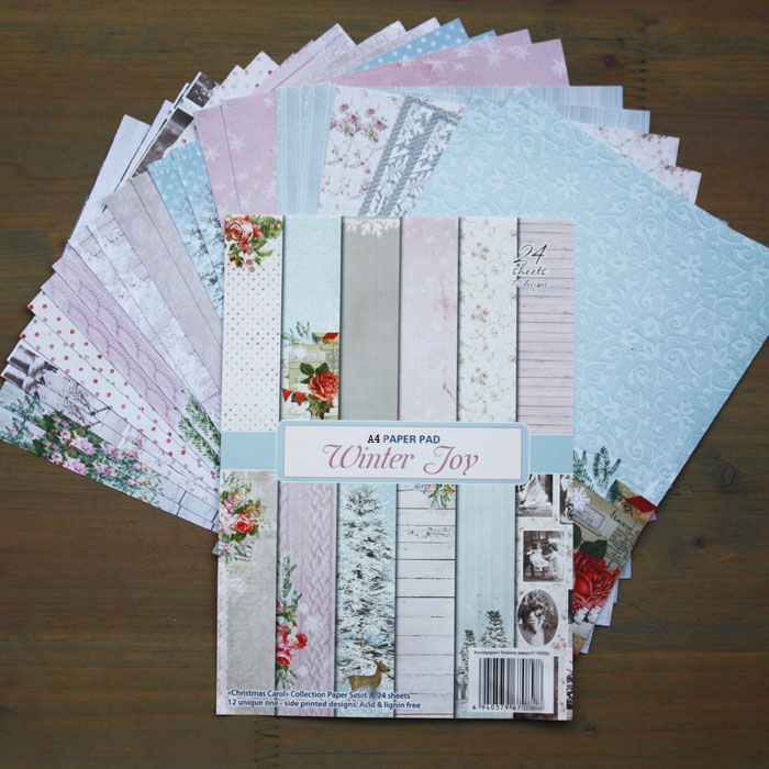 New Arrival DIY Album Photo Scrapbooking  Papers sets of  Merry Christmas Series A4  or A5  Single Side Printed 24pcs/Set