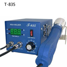 Authorized Original PUHUI T-835 BGA IRDA WELDER T835 Infrared BGA Rework Station IRDA Soldering Welder 35 mm bga notebook rework station t 870a irda soldering welder t870a infrared light smt smd 1000w