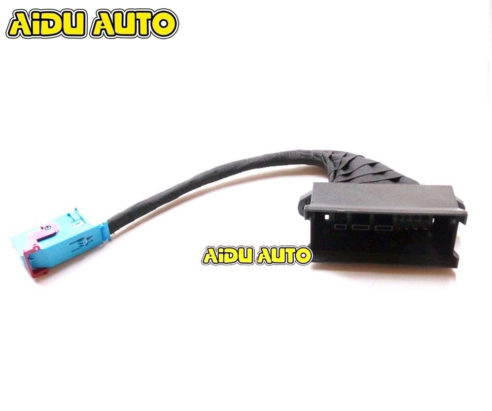 Pour VW Passat B6 R36 Instrument Cluster Adaptateur 36 à 32 Broches Plug & Play Fil Câble harnais