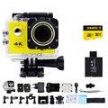Goldfox 4 k wifi 1080 p mini câmera digital ação esporte dv 2.0 LCD 130D lente ir pro Cam câmera à prova d' água com 32 GB Cartão