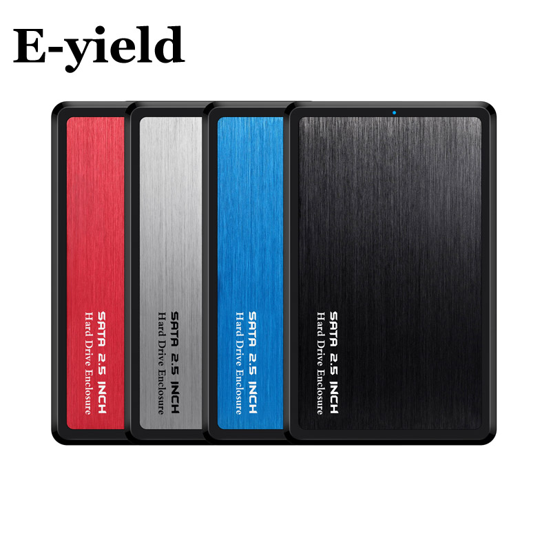 USB C Type C Hard Drive Enclosure UASP 2.5 Inch USB3.1 Hard Drive Enclosure Support UASP Protocol  Aluminum Alloy & Durable ABS